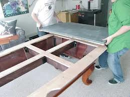 Pool table moves in Topeka Kansas