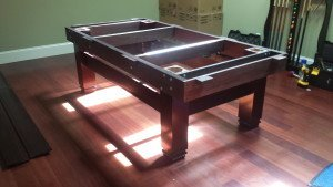 Correctly performing pool table installations, Topeka Kansas