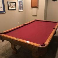 Brunswick 8ft Pool Table