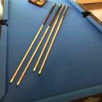 7', 3 Piece Slate Pool Table