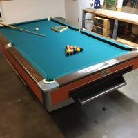 "Large Pool Table 9'5"" X 5'4"""