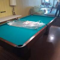 Custom Made 9' Pool Table