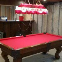 Beautiful Custom Made Pool Table