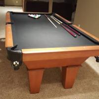 Pool Table-7 ft. Golden West