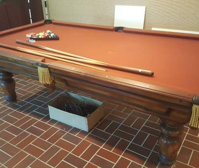 Custom Made Golden West Billiard Table