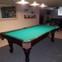 Olhausen 8' Pool Table Simonis 860 Tournament Cloth & Italian Slate
