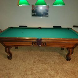 Golden West Delta Queen Pool Table