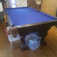 "7"" Pool Table"