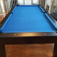 8' Pool Table that Converts to Dining Table